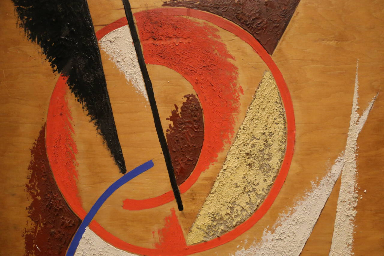 REVOLUTION Lyubov Popova - Space Force Construction (detail). Photo © www.foxtrotfilms.com