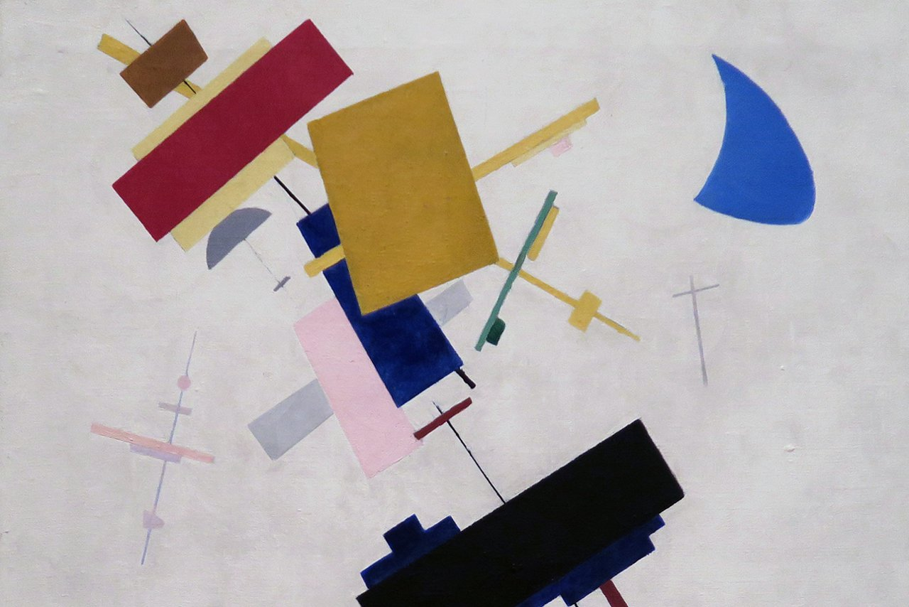 REVOLUTION Supremus (detail) by Kazimir Malevich. Photo © www.foxtrotfilms.com