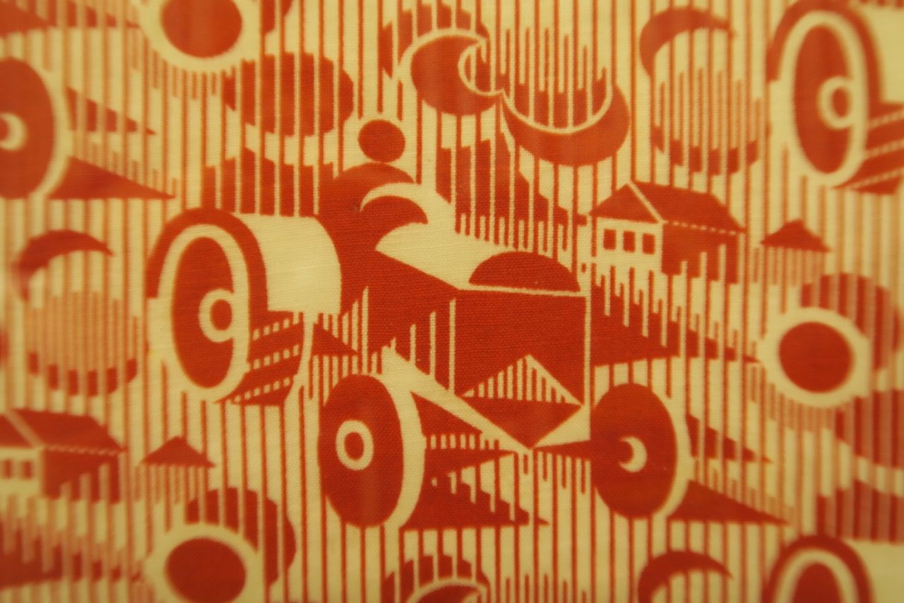 REVOLUTION Tractor fabric pattern by Sergei Burylin. Photo © www.foxtrotfilms.com