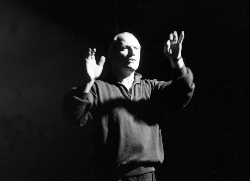 Steven Berkoff mime