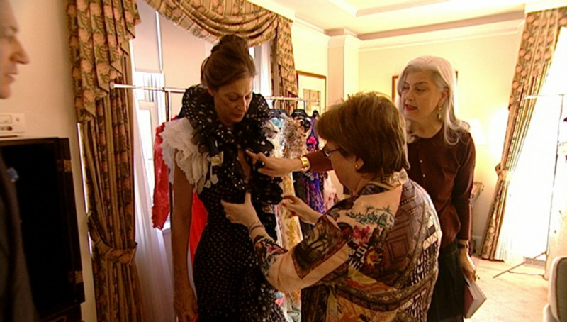 Haute Couture fitting in New York