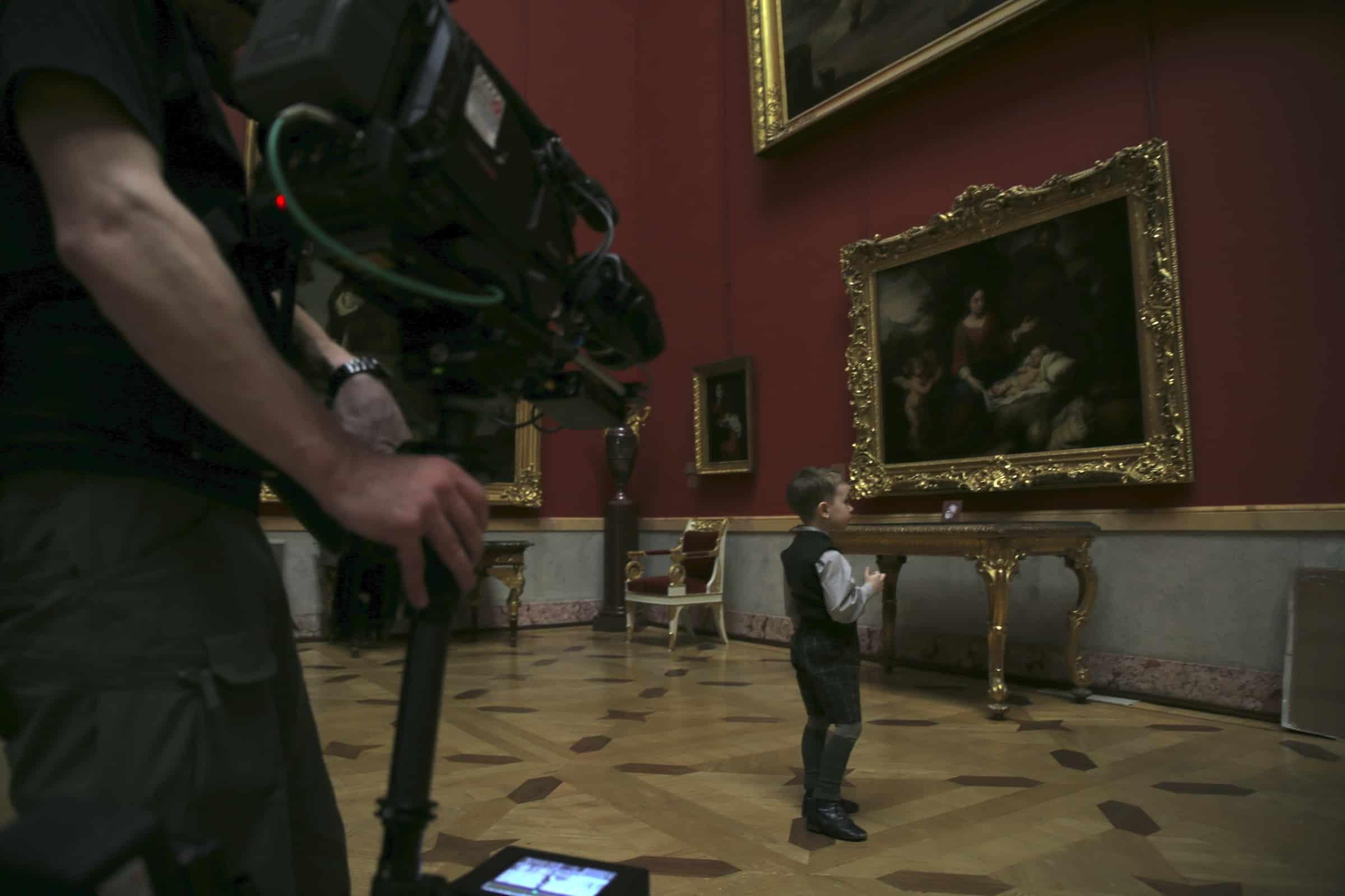 Filming Little Piotrovsky