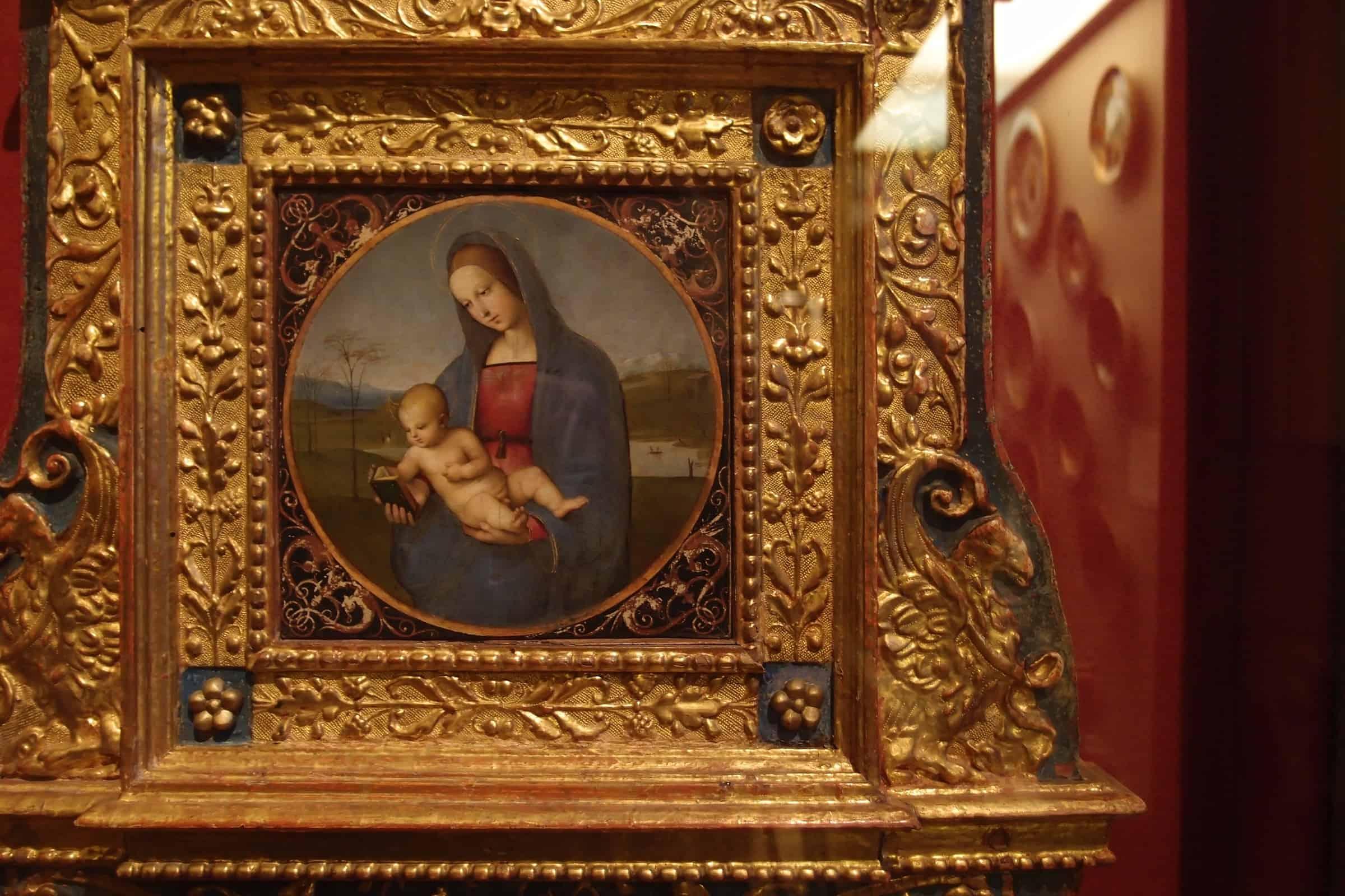 Raphael: Madonna and Child (Madonna Conestabile)