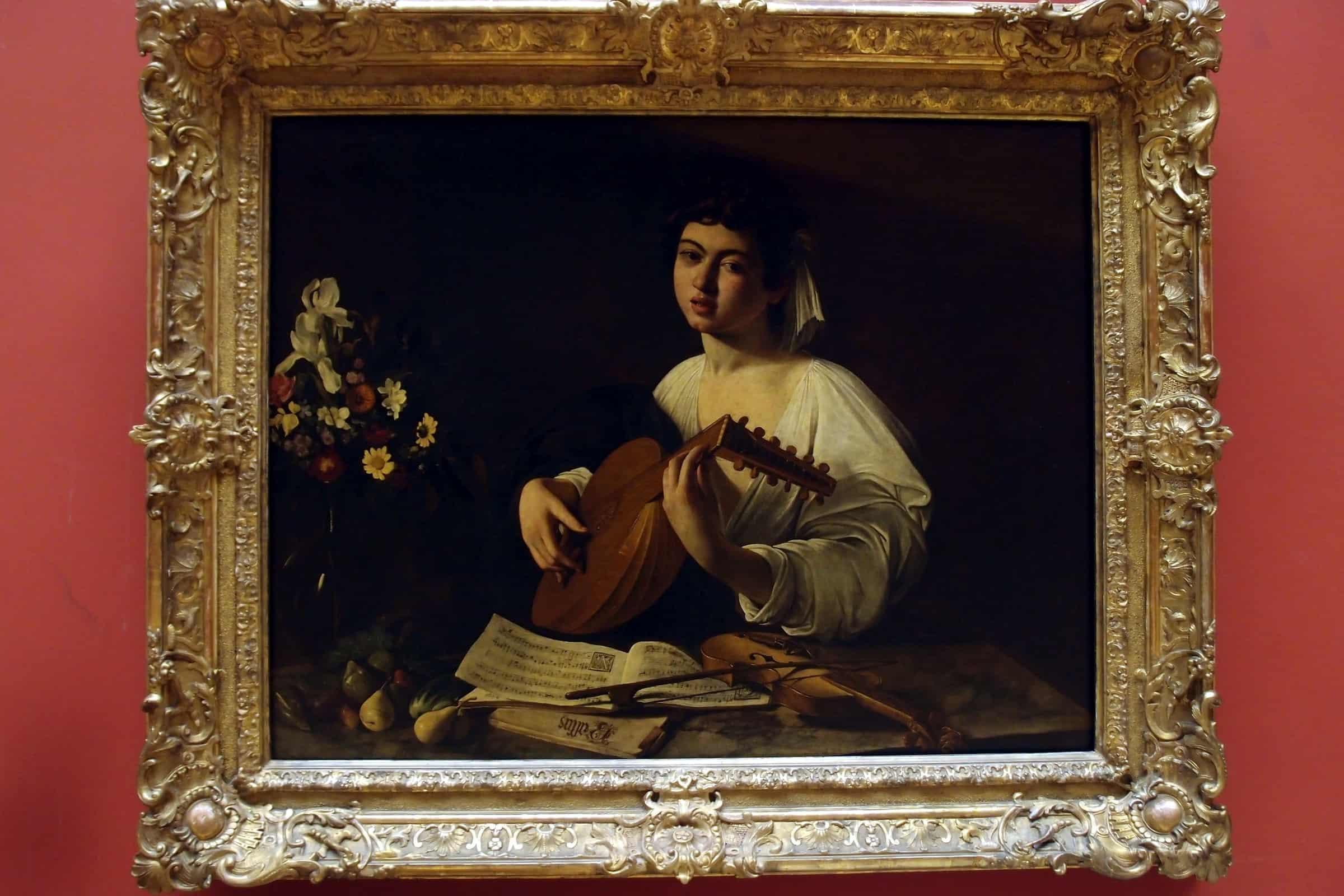 Caravaggio: The Lute Player