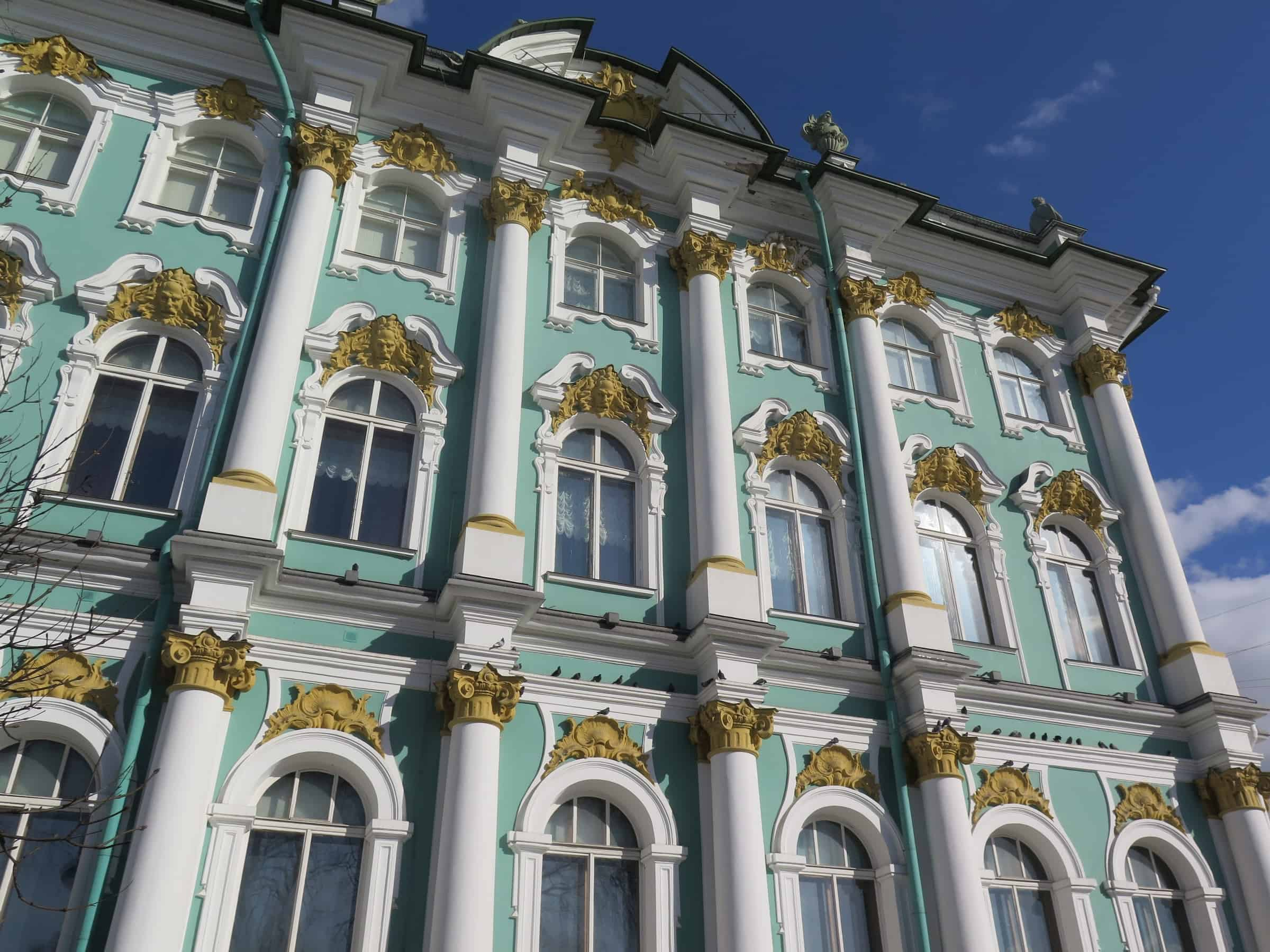 Windows of the Winter Palace