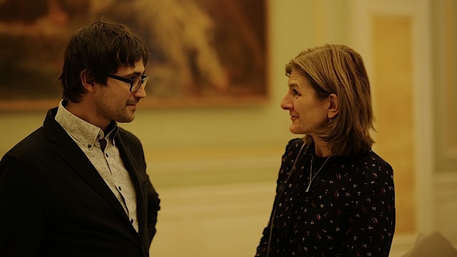 Director of Contemporary Art Dmitri Ozerkov and Margy Kinmonth