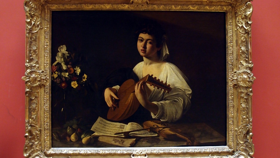 Caravaggio: The Lute Player