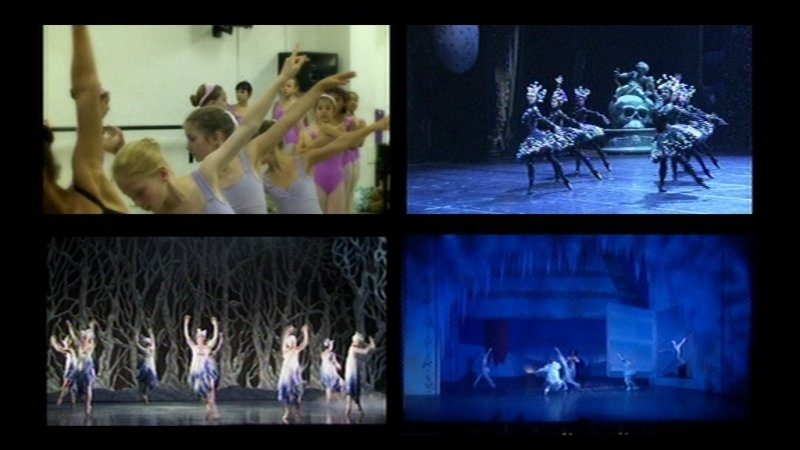Four screen shot from Nutcracker Story