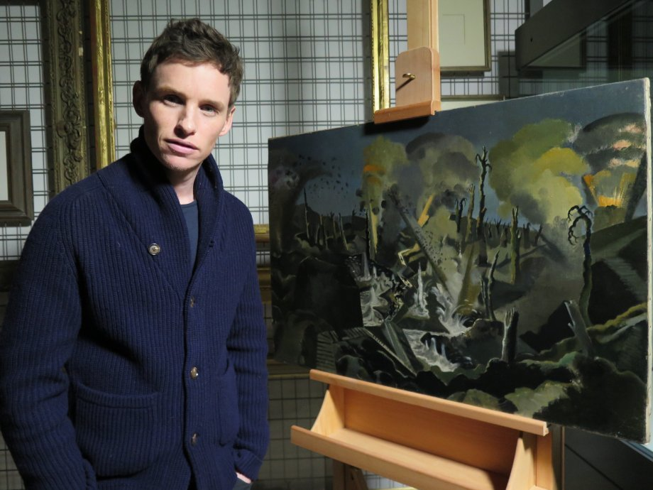 WAR ART with Eddie Redmayne | Foxtrot Films