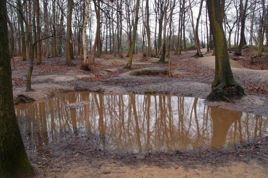 Sanctuary Wood, Ypres. Photograph © www.foxtrotfilms.com