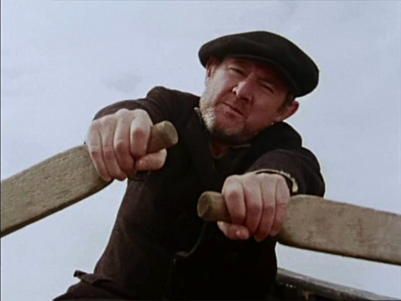 Niall Toibin as the ferryman