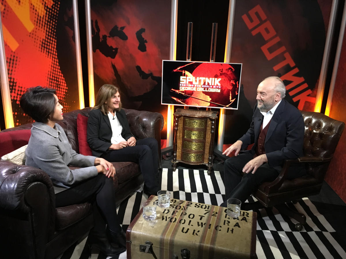George Galloway's Sputnik Revolution